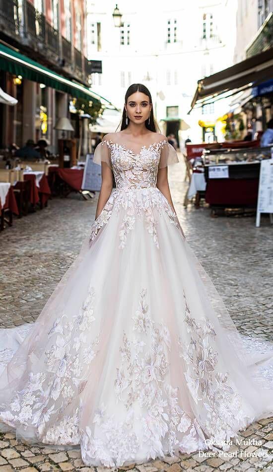 Oksana Mukha Wedding Dresses 2019 Robe De Mariee Pinterest