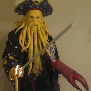 Davy Jones Costume Nice from scratch build.