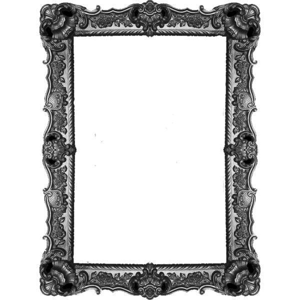 Frame Template Aesthetic Black