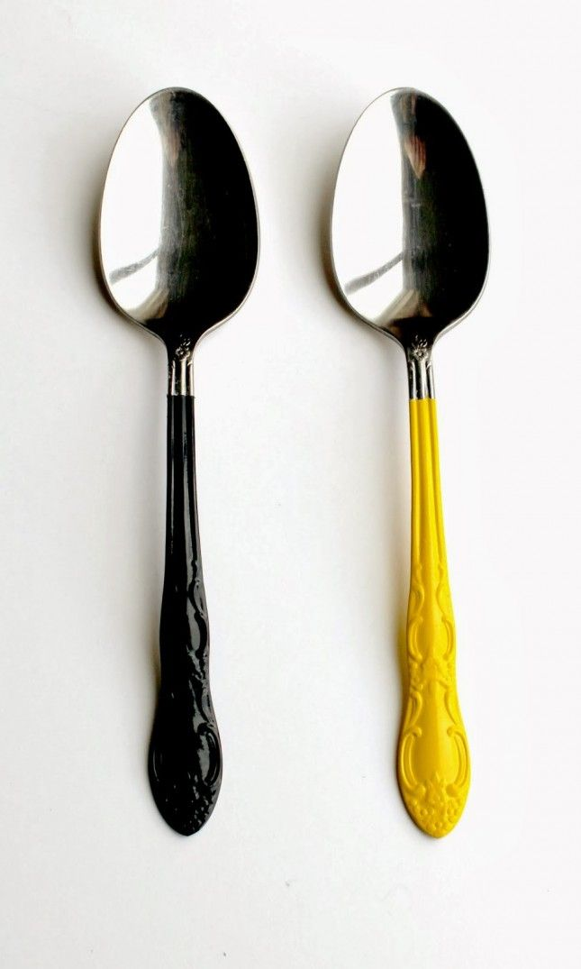 10 diys to pimp out your flatware para el hogar ideas for Ideas originales para el hogar