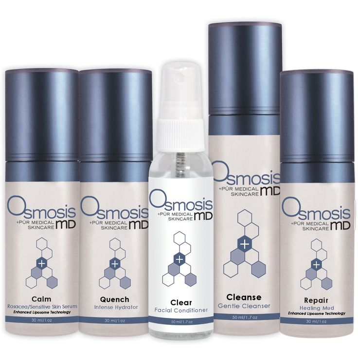 >>Osmosis skin care offers a line of facial products and color cosmetics..