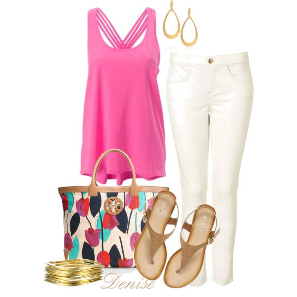 Spring, created by deniselanders on Polyvore: Fashion 3, Spring Summer Clothing, Summer Outfits, Polyvore Outfits, Spring Summer Trends, Anne S Style, Spring Outfits, Spring Style