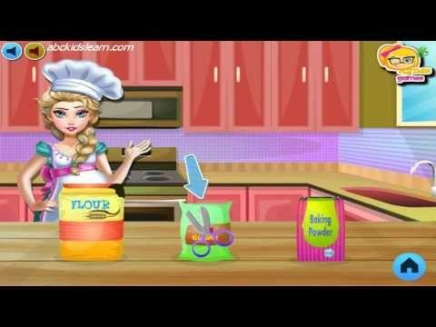 Frozen Español Pregnant Elsa Baking Pancakes Elsa Frozen Games Online