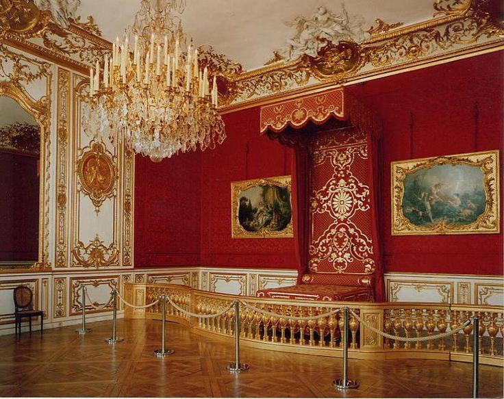 Chambre d apparat de la princesse lit de parade for Chambre de parade