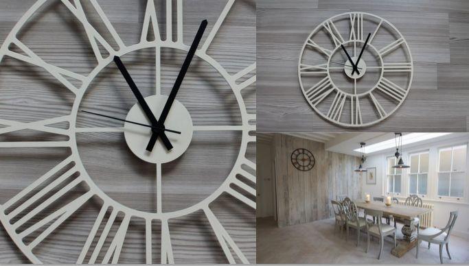 """Дизайнерские настенные часы Модель """"Rooma"""",металл www.livemaster.ru/kodumaja"""