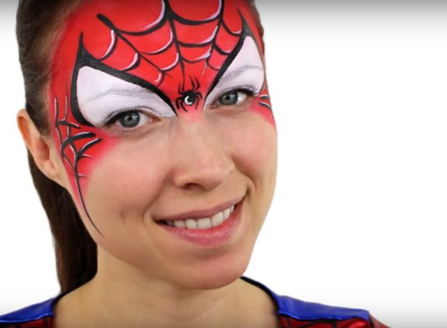 maquillage-spiderman-tutoriel