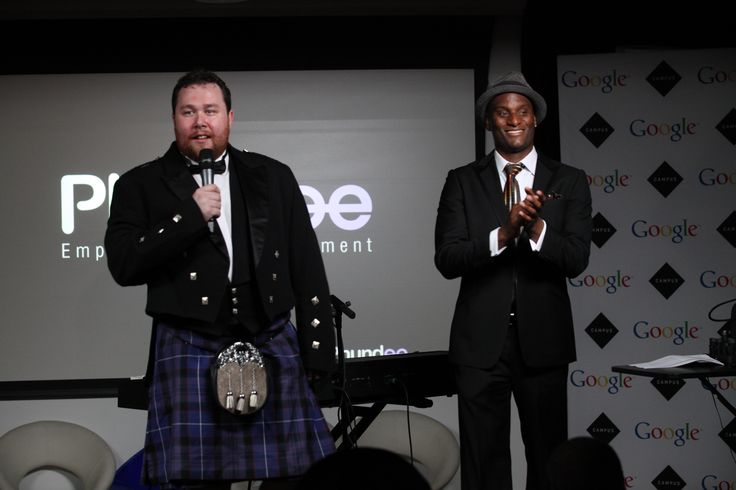 Ashon Spooner and Colin Mcgregor Phundee launch!