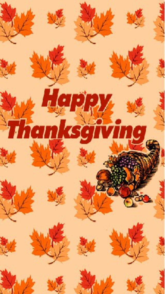 THANKSGIVING, IPHONE WALLPAPER BACKGROUND (With images