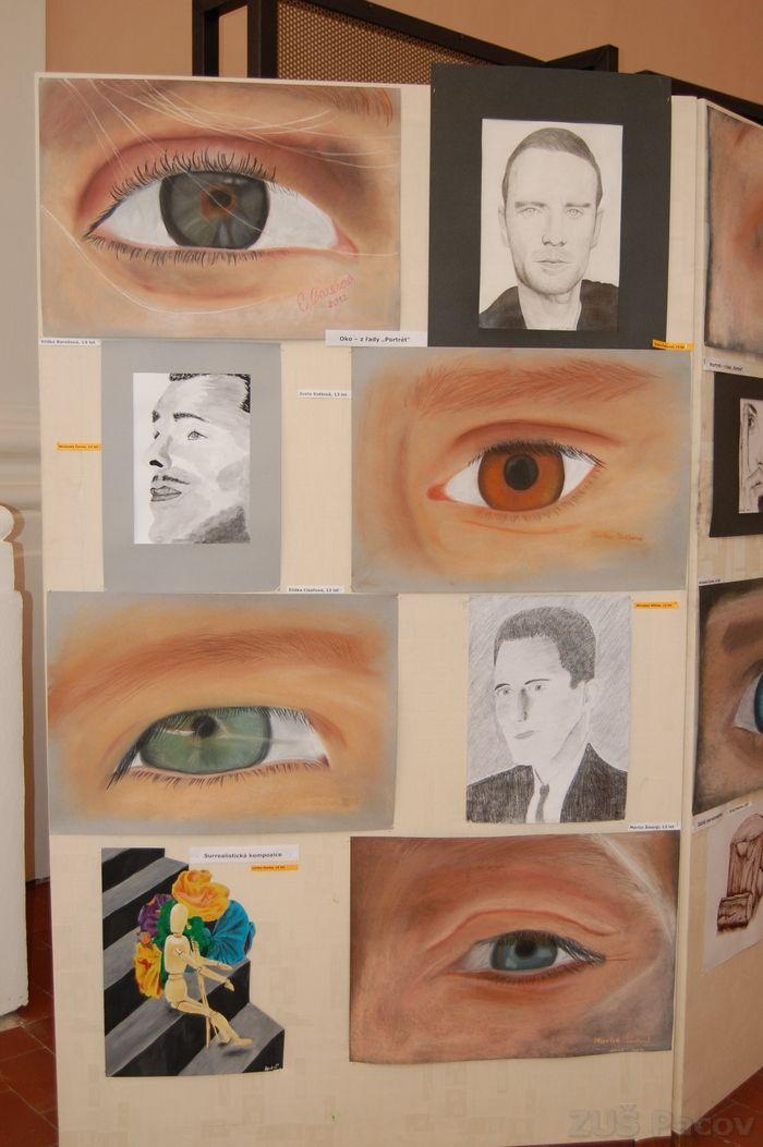 Den mikroreginu - výstava výtvarný obor 15. června 2013 | Základní umělecká škola Pacov