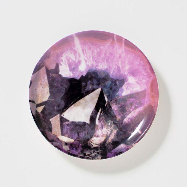 Purple Galaxy Trinket Dish