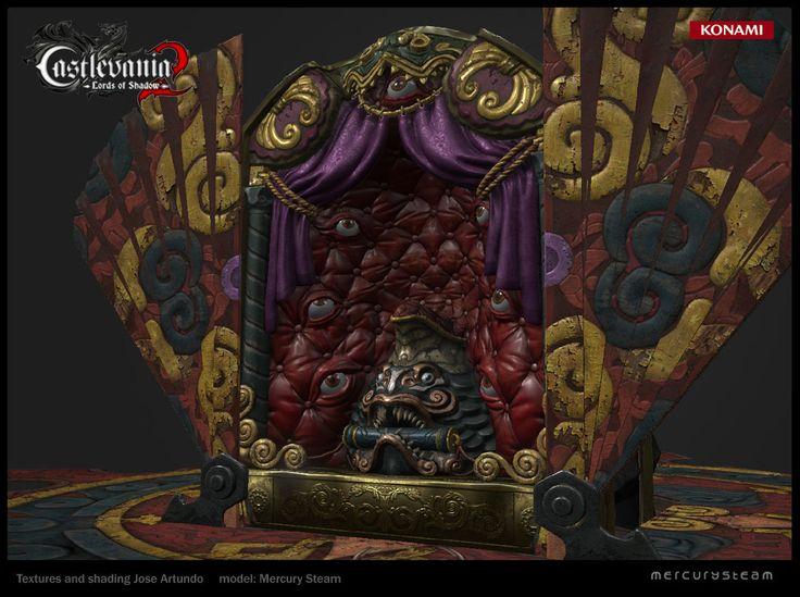 Toymaker throne, Jose Artundo on ArtStation at https://www.artstation.com/artwork/toymaker-throne