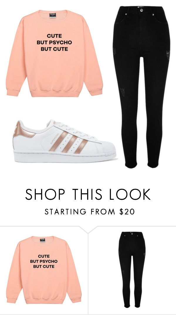 """""""Outfit #81"""" by malayam ❤ liked on Polyvore featuring River Island and adidas Originals"""