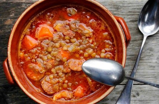 {good luck lentil soup – traditional hungarian recipe}