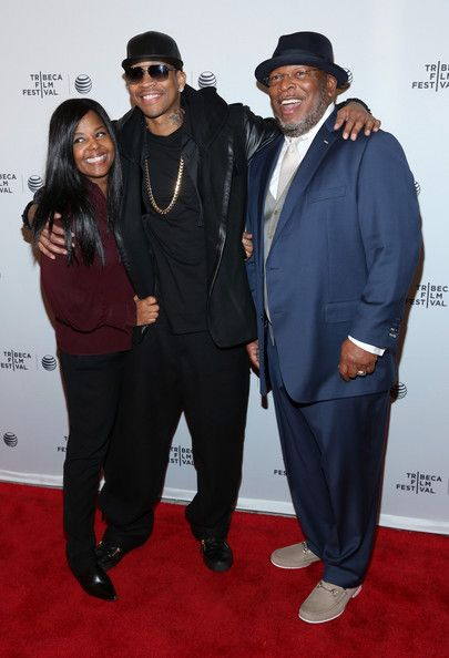 """Allen Iverson Photos Photos - (L-R) Director Zatella Beatty, former professional basketball player Allen Iverson and executive producer Gary D. Moore attend the """"Iverson"""" Premiere during the 2014 Tribeca Film Festival at the SVA Theater on April 27, 2014 in New York City. - """"Iverson"""" Premiere - 2014 Tribeca Film Festival"""