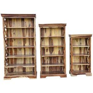 Набор книжных шкафов Бомбей SAP-0761A / Книжные шкафы, библиотеки / Мебель для гостиной
