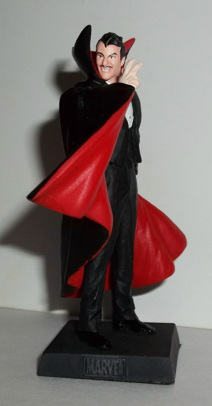 Dracula classic marvel figurine collection pinterest