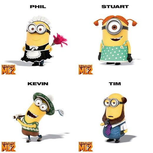 Minions Names | www.imgkid.com - The Image Kid Has It!