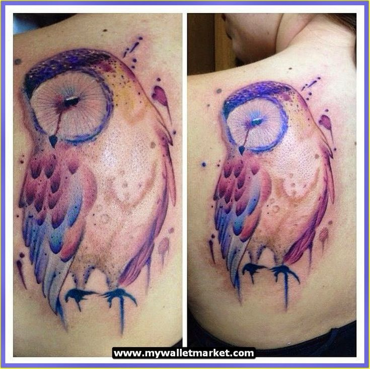 Awesome Tattoos Designs Ideas for Men and Women: Abstract Colorful ...