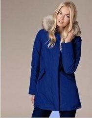 Doudoune Woolrich Parka Femme Fashional Deep Bleu