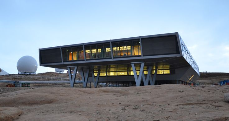 Indian Research Base   Larsemann Hills, Antarctica   BOF Architects