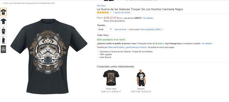 Camisetas baratas de Star Wars!! http://www.atrapatuchollo.com/camisetas-baratas-de-star-wars/ #camisetas #baratas #starwars #atrapatuchollo #chollos #ofertas
