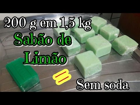 SABÃO CASEIRO SEM SODA GASTANDO APENAS 2,00 com CozinhandoComNane :) - YouTube