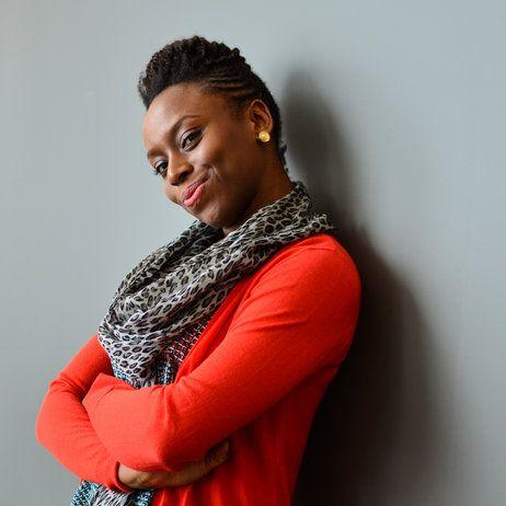Chimamanda Ngozi Adichie won a National Book Critics Circle award for her novel Americanah. She's an inspiration.