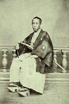 Ikeda Akimasa (1836 - 1903). He was the last feudal lord of the Okayama feudal clan. Edo era (Bakumatsu) / Meiji era.