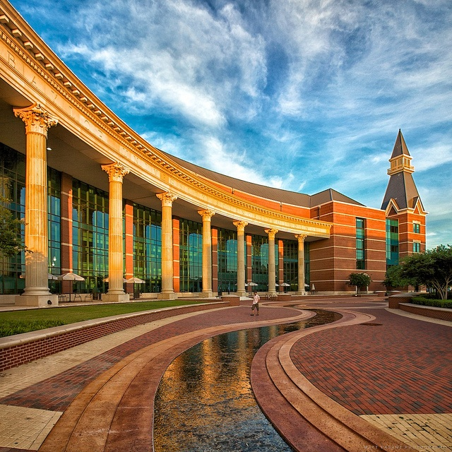 How lucky am I to go here everyday...sic 'em // #Baylor University