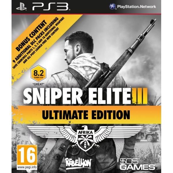 Sniper Elite III Ultimate Edition PS3 Game | http://gamesactions.com shares #new #latest #videogames #games for #pc #psp #ps3 #wii #xbox #nintendo #3ds