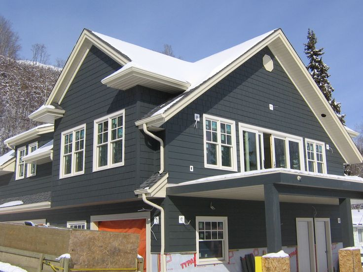 Iron Grey Hardie Siding Thoughts Exterior Colors