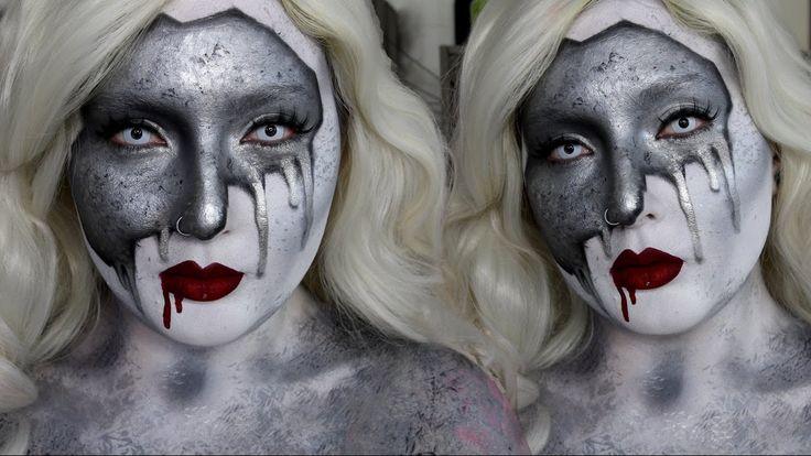 Geschmolzenes Metall Makeup Tutorial   Kostüm-Idee zu Karneval, Halloween & Fasching