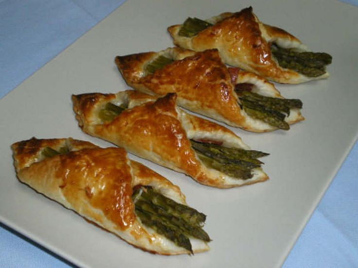Receta de Envueltos de espárragos y jamón | Cocinar en casa es facilisimo.com