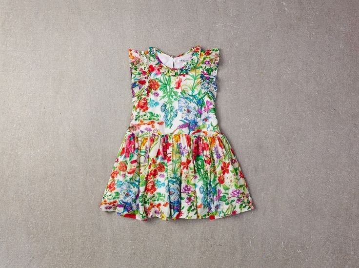 Nellystella Ariel Dress in Garden Floral