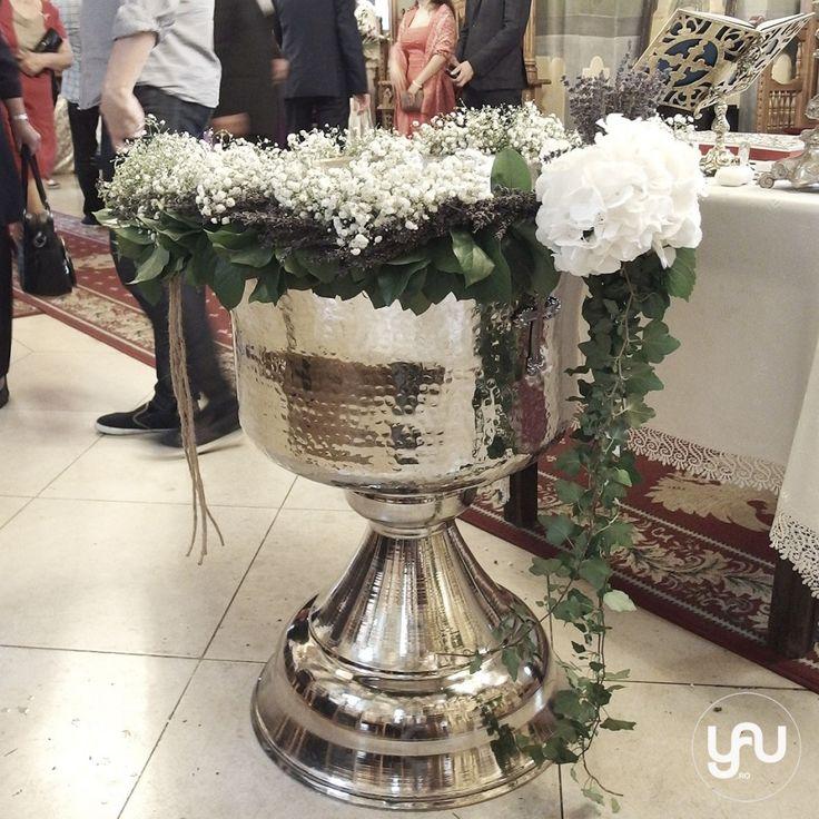 yau concept_yau flowers_yau events_ghirlanda pentru botez cu gypsophila si lavanda