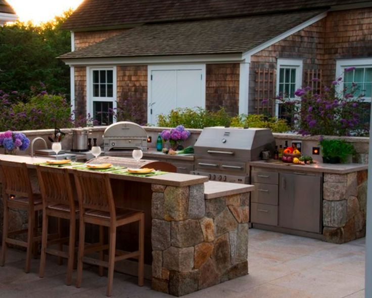 18 best Incredible Outdoor Kitchens images on Pinterest Outdoor - outside kitchen designs