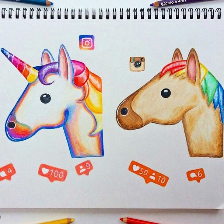 Daily Art (@dailyart) •  If only I could be a unicorn...