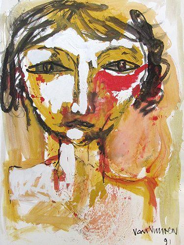 Sunrise Face. Andre van Vuuren