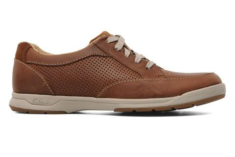 Clarks Stafford Park5 Tan Leather