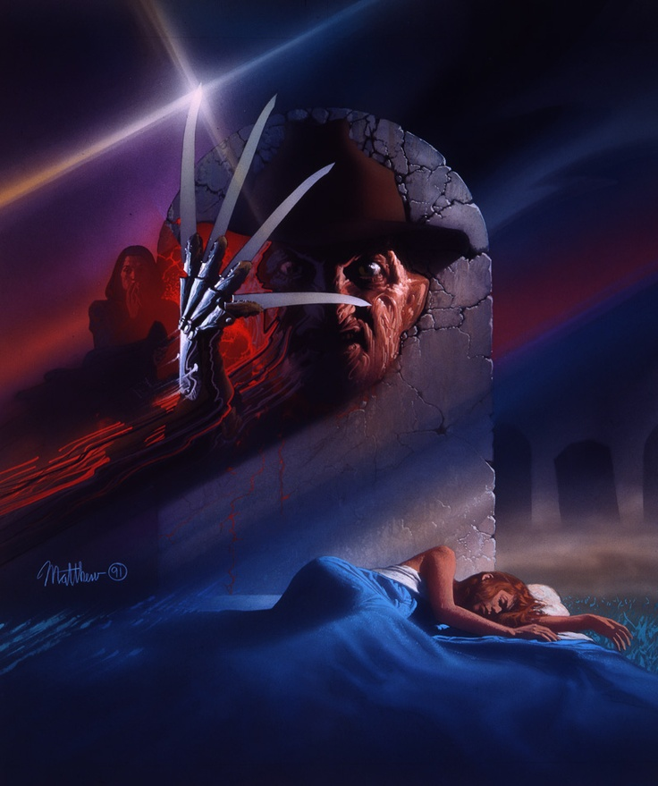 Intomthe Darkness Seduction...Nightmare on Elm Street... -Sweets Dreams, my boys and girls.