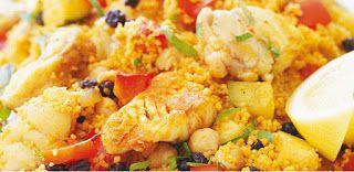 Se régaler avec thermomix : Couscous de poisson