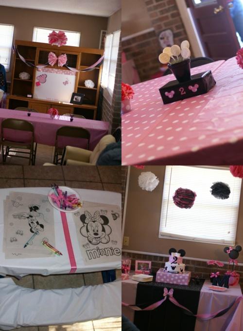 Mya's 2nd birthday party (part one) #minniemouse #2ndbirthday