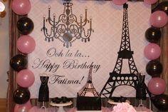 Parisian party paris table