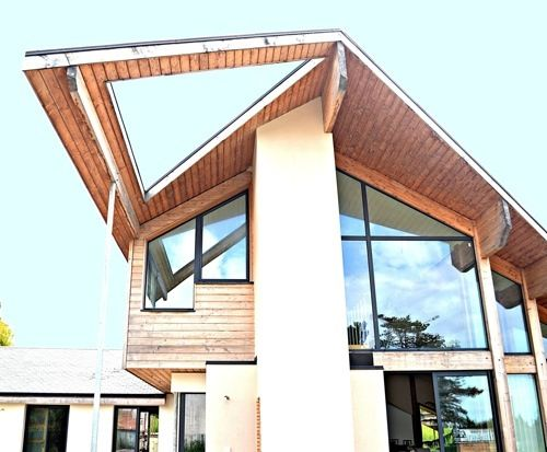 Amarine architecture charente maritime maison for Architecture organique