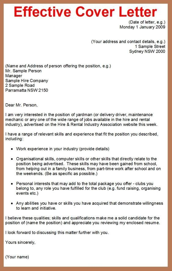 COVER LETTER WRITING SERVICE FOR JOB Get Expert Help With