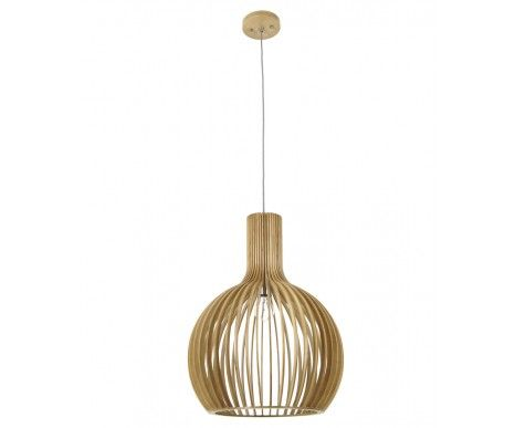 Malmo 1 Light 450mm Pendant in Natural Wood $449 - $314 2nd