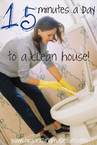 simple schedule for a clean house