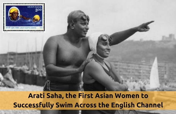 Arati Saha, an Honour to the Swimming Community! The youngest swimmer of Indian Contingent to represent India at the Helsinki Olympics, the first Asian to successfully swim across the English Channel And More of her Swimming Glories @ #SwimIndia