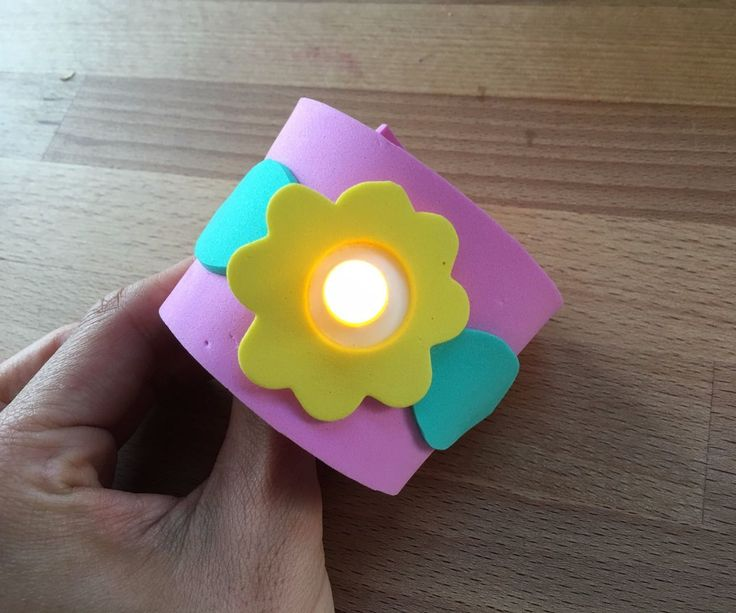 Build LED wristbands with your class! They are fun and will light up your students' day.