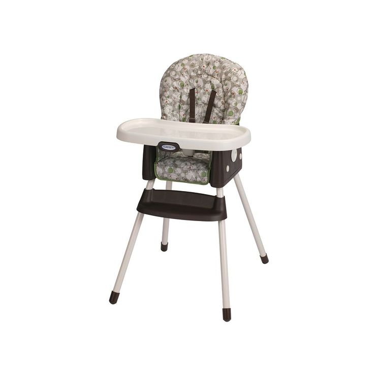 Graco SimpleSwitch 2-in-1 High Chair and Booster Seat, Multicolor